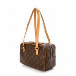 Louis Vuitton Cite MM Monogram Brown Coated Canvas Shoulder Bag LXRCO 6