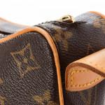 Louis Vuitton Croissant MM Monogram Brown Coated Canvas Shoulder Bag LXRCO 10