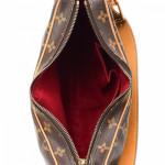Louis Vuitton Croissant MM Monogram Brown Coated Canvas Shoulder Bag LXRCO 3