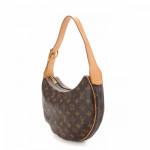 Louis Vuitton Croissant MM Monogram Brown Coated Canvas Shoulder Bag LXRCO 4