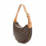 Louis Vuitton Croissant MM Monogram Brown Coated Canvas Shoulder Bag LXRCO 6