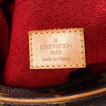 Louis Vuitton Croissant MM Monogram Brown Coated Canvas Shoulder Bag LXRCO 8