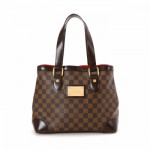 Louis Vuitton Hampstead PM Damier Ebene Brown Coated Canvas Shoulder Bag LXRCO 2