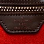 Louis Vuitton Hampstead PM Damier Ebene Brown Coated Canvas Shoulder Bag LXRCO 7