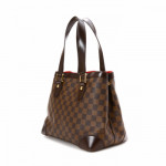 Louis Vuitton Hampstead PM Damier Ebene Brown Coated Canvas Shoulder Bag LXRCO 6