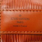 Louis Vuitton Sac d'epaule Epi Cipango gold Leather Shoulder Bag LXRCO 8