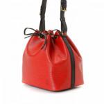 Louis Vuitton Petit Noe Epi Red Leather Shoulder Bag LXRCO 4