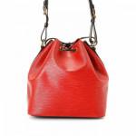 Louis Vuitton Petit Noe Epi Red Leather Shoulder Bag LXRCO 5