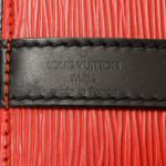 Louis Vuitton Petit Noe Epi Red Leather Shoulder Bag LXRCO 8