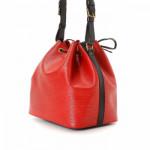Louis Vuitton Petit Noe Epi Red Leather Shoulder Bag LXRCO 6