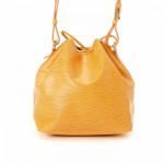 Louis Vuitton Petit Noe Epi Tassil yellow Leather Shoulder Bag LXRCO 5