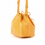 Louis Vuitton Petit Noe Epi Tassil yellow Leather Shoulder Bag LXRCO 6
