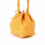 Louis Vuitton Petit Noe Epi Tassil yellow Leather Shoulder Bag LXRCO 4