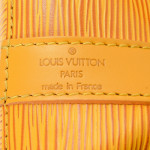 Louis Vuitton Petit Noe Epi Tassil yellow Leather Shoulder Bag LXRCO 8