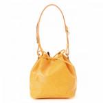 Louis Vuitton Petit Noe Epi Tassil yellow Leather Shoulder Bag LXRCO 2