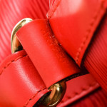 Louis Vuitton Noe Epi Red Leather Shoulder Bag LXRCO 9