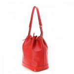 Louis Vuitton Noe Epi Red Leather Shoulder Bag LXRCO 4