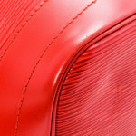 Louis Vuitton Noe Epi Red Leather Shoulder Bag LXRCO 10