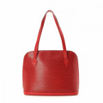 Louis Vuitton Lussac Epi Red Leather Shoulder Bag LXRCO 5