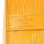 Louis Vuitton Petit Noe Epi Yellow Leather Shoulder Bag LXRCO 8