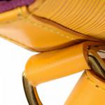 Louis Vuitton Petit Noe Epi Yellow Leather Shoulder Bag LXRCO 9