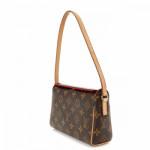 Louis Vuitton Recital Monogram Brown Coated Canvas Shoulder Bag LXRCO 4
