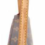Louis Vuitton Recital Monogram Brown Coated Canvas Shoulder Bag LXRCO 10
