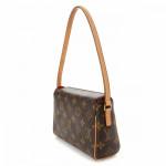 Louis Vuitton Recital Monogram Brown Coated Canvas Shoulder Bag LXRCO 6
